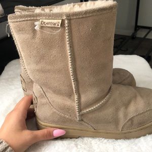 Bear paw winter boots tan